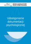 Udostępnianie dokumentacji  psychologicznej